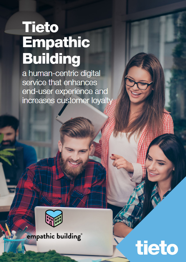 Cover page of Tieto Empathic Building solution paper