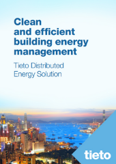 Cover for Tieto Distributed Energy Solution whitepaper