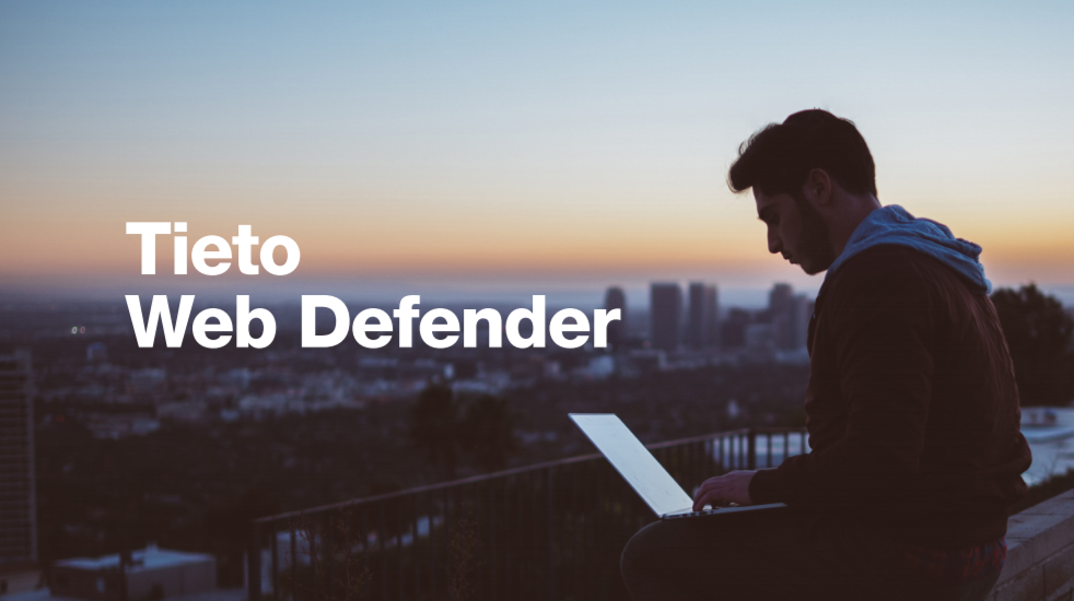 Tieto Web Defender solution paper cover
